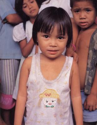 Philippines Cotabato little girl 2
