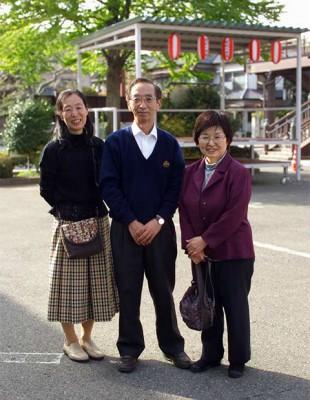 鈴木誠二さん夫妻と知人 栃木県足利市 Japan