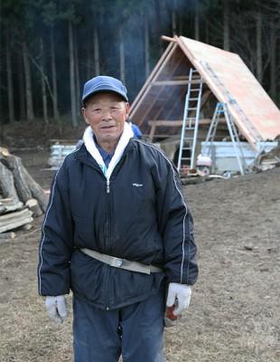炭窯 岩手県野田村 Japan