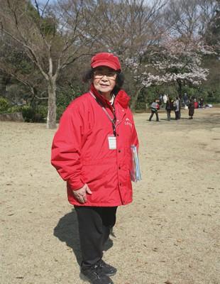 鈴木ルリ子さん 千葉県松戸市 Japan