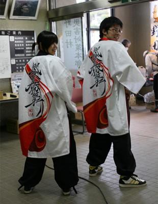 肥後真狗舞(ひごまぐま) 岩手県野田村にて Japan