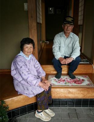 田中進・美智子さん夫妻 千葉県睦沢町 Japan
